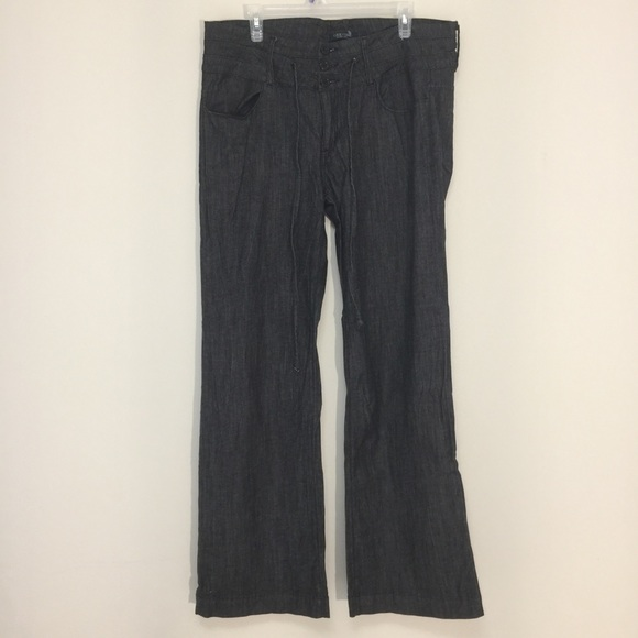 Good Time Jeans USA black flared